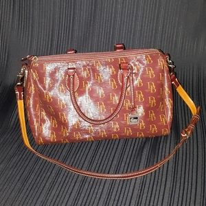 Dooney and Bourke Leather Messenger Purse